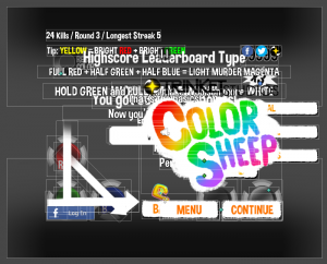 All of Color Sheep's UI